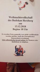 Weihnachtsvolleyball @ Turnhalle Nord