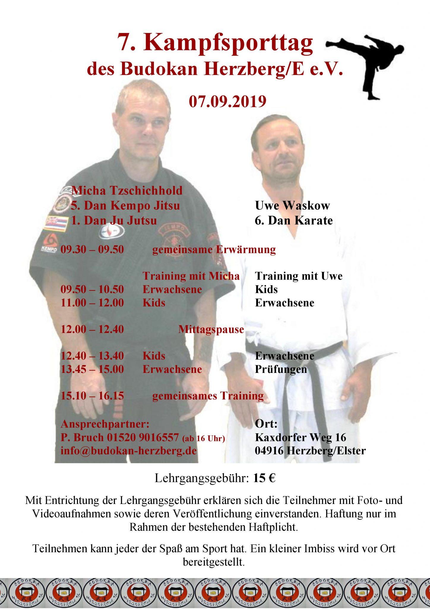 7. Kampfsporttag 2019 @ Turnhalle | Herzberg (Elster) | Brandenburg | Deutschland